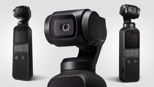dji osmo pocket - câmera digital 4k + sd 32 gb