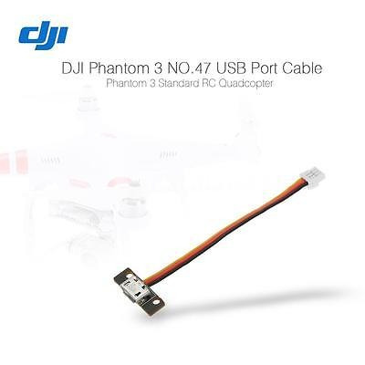 dji phantom 3 parte no.47 puerto usb cable para el dji phant