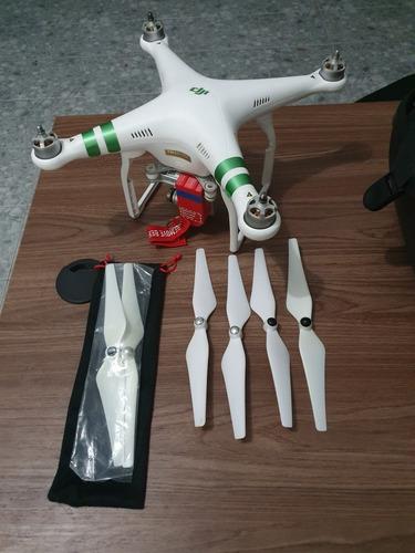 dji phantom 3 professional 4k + 2 baterias + case + acessórios