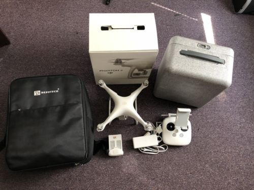 dji phantom 4 cuadricóptero drone con cámara de 4k