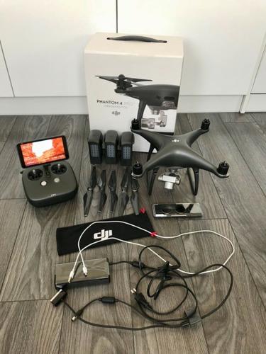 dji phantom 4 pro 4k camera drone ready to fly