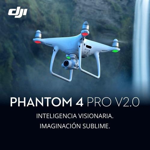 dji phantom 4 pro v2.0 drone profesional cuotas - inteldeals
