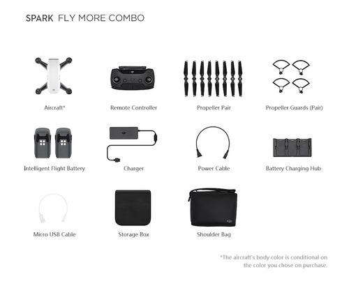 dji spark fly more combo drone 12mp 16min 2km hobbytuxtla