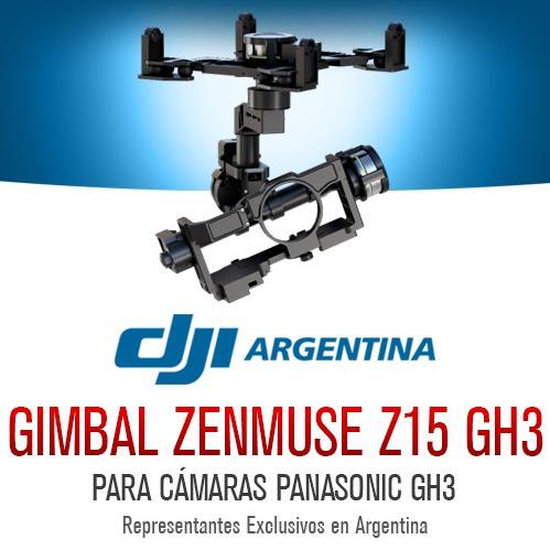 dji zenmuse z15 gh3 gimbal original drone s1000 s900 s800
