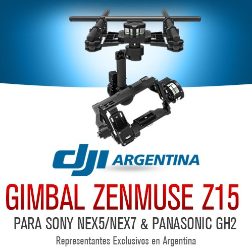 dji zenmuse z15 gimbal original drone s1000 s900 s800 evo