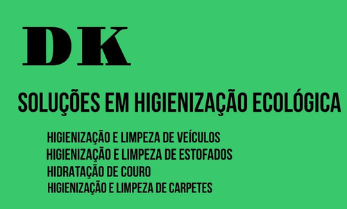 dk soluções em higienização ecológica