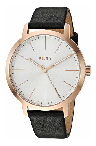 dkny men's the the modernist stainless steel quartz watch
