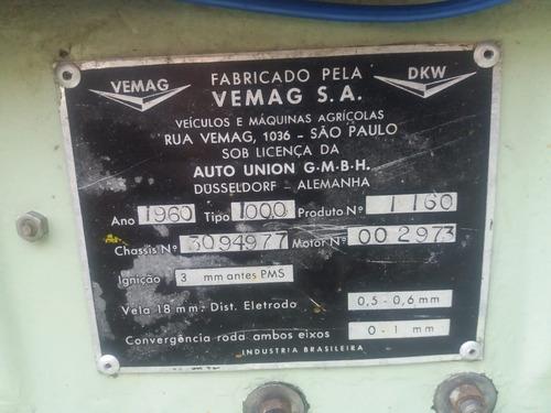 dkw candango 1960 placa preta