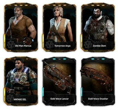 dlc brothers to the end dlc gears of war 4,- codigo