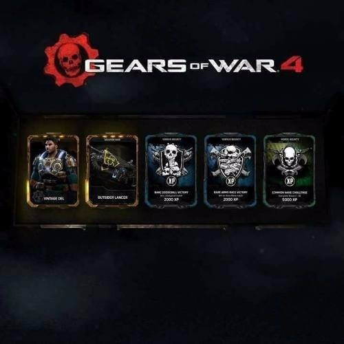 dlc brothers to the end gears of war 4 lancer skin dom-codig