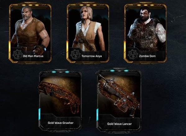 Dlc Brothers To The End Gears Of War 4 Lancer Skin Dom Codig