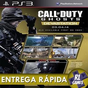 Dlc Devastation Call Of Duty Cod Ghosts Ps3 Psn