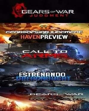 dlc mapas skins gear of war judgment - xbox 360 y xbox one