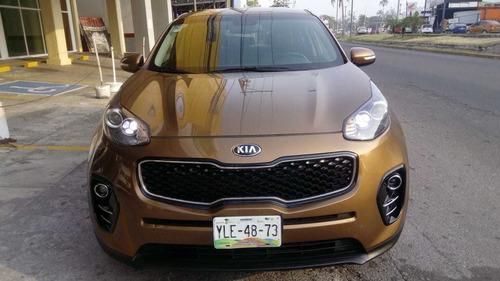 dm kia sportage 2.0 ex l at 2016 color dorado