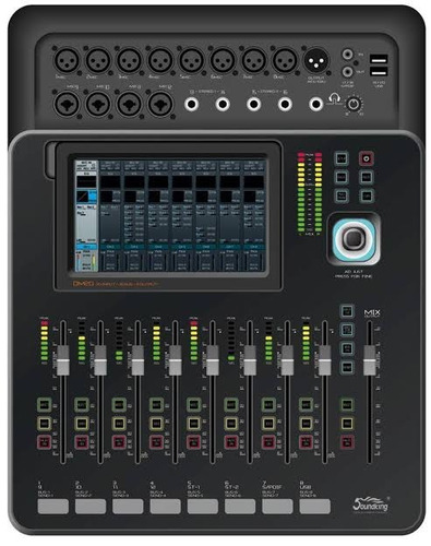 dm20 consola digital 16 canales soundking mp3, wifi, bt hifi