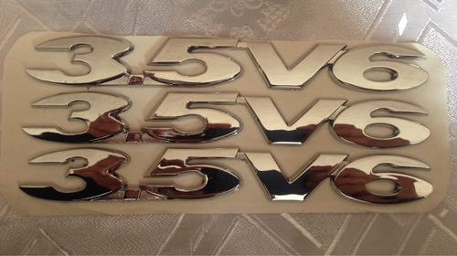 dmax emblema 3.5v6