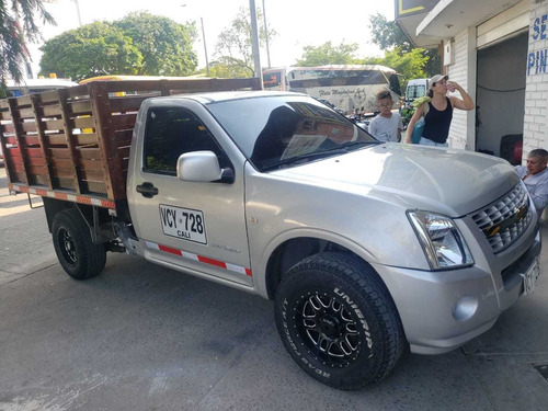 dmax estacas diesel 2.5cc 2013 4x2 rines a/c carpa publica