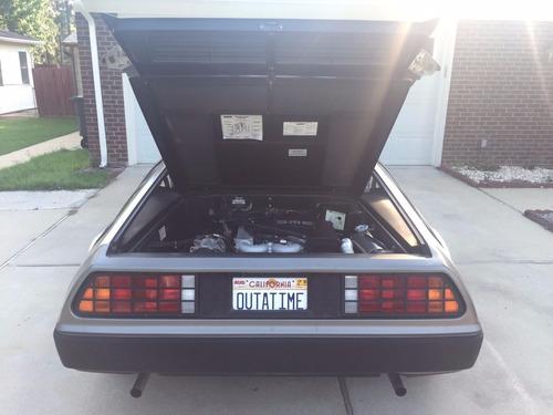 dmc , delorean 1981 , el coche de back to the future,origina