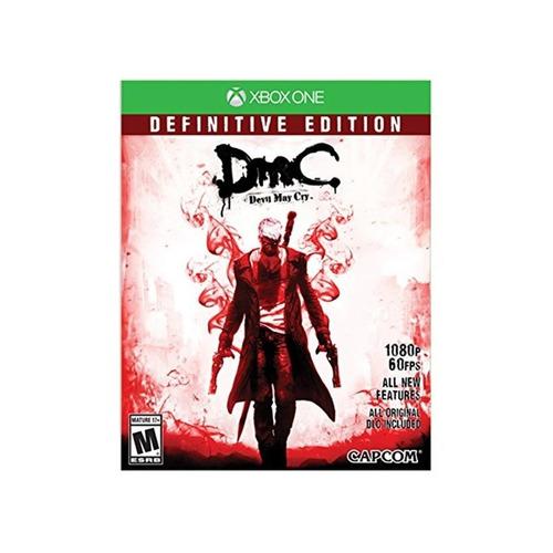 dmc devil may cry definitive edtion xbox one  mídia física