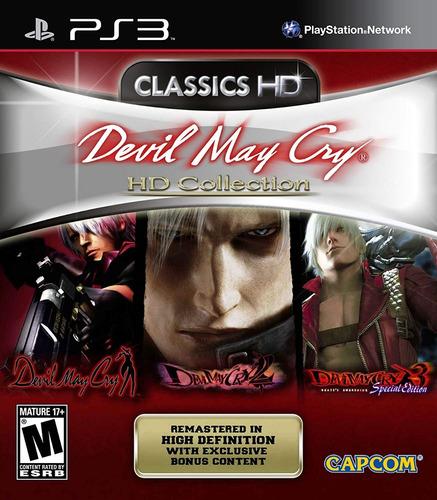 dmc devil may cry  hd collection digital latino ps3