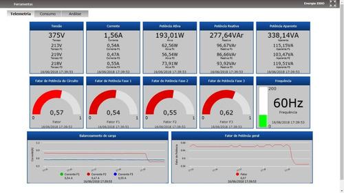 dmi mp1000 analisador de energia telemetria remota wi-fi 3g