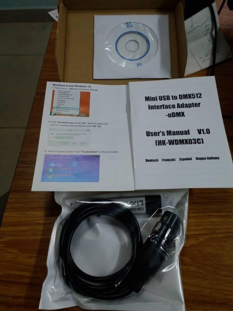 Dmx 512 Usb Digital 3d Y Freestyler - Bs  6 000,00 en