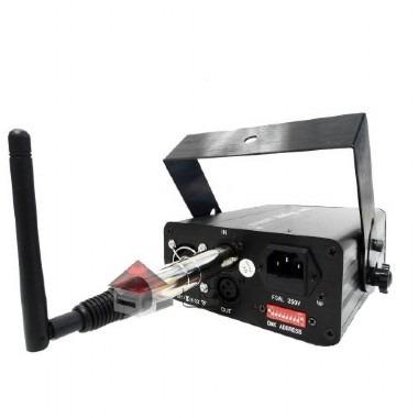 dmx wireless 2,4ghz transmissor ou receptor sem fio