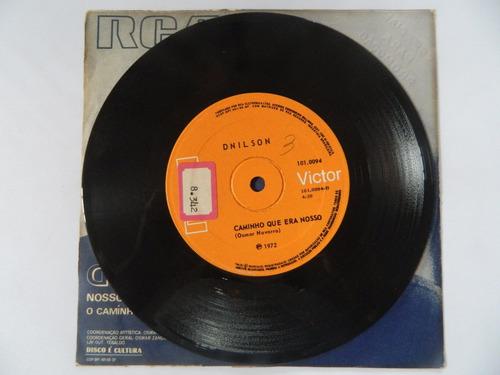 dnilson 1972 nosso sonho de amor - compacto ep 11