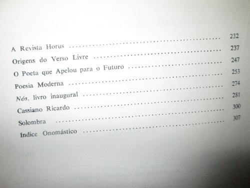 do barroco ao modernismo . estudos de poesia brasileira .