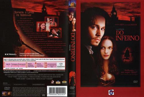 do inferno com johnny depp dvd  original e lacrado dublado