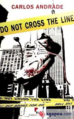 do not cross the line(libro )