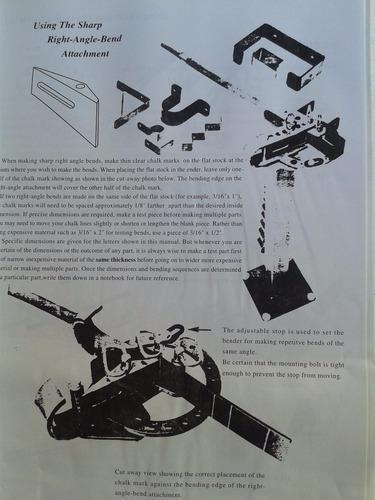 dobladora de fierro y pletinas transportable - ferrymaq