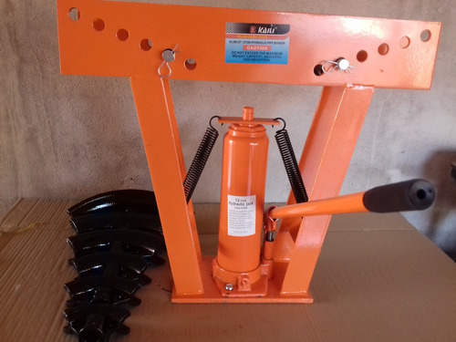dobladora de tubos 6 medidas hidraulica montaje electrico