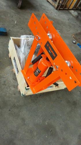 dobladora de tubos hidraulica 12toneladas marca truper