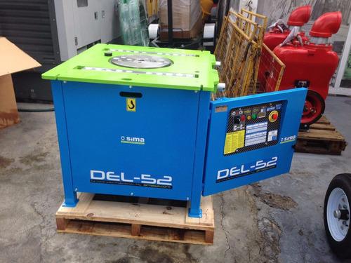 dobladora de varilla electrica trifasica 220v. motor de 5.5