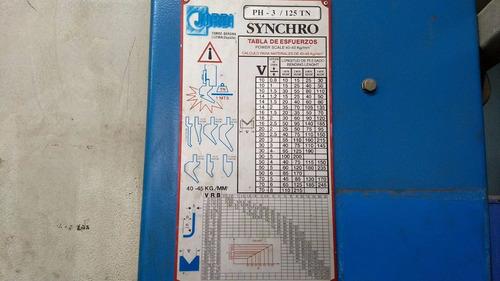 dobladora hidraulica cnc española marca jordi 2001