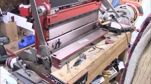 dobladora roladora cortadora de lamina 40 , 3 en 1