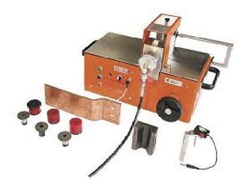 dobladora y punzonadora p/ barras de cobre- set2 alfra
