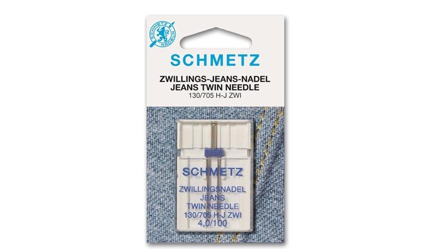 marca SCHMETZ Agujas doble punta para vaqueros