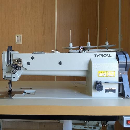 doble aguja triple arrastre cama larga typical gc20606l18
