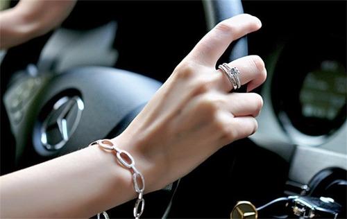 doble anillo de moda joyería nupcial de boda anillo de compr