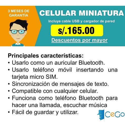 doble chip - celular miniatura - l8star bm70