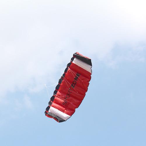 doble lnea paracaidista stunt kite con herramientas de