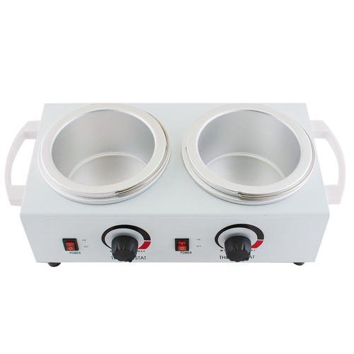 doble olla cera calentador calentador eléctrico profesional