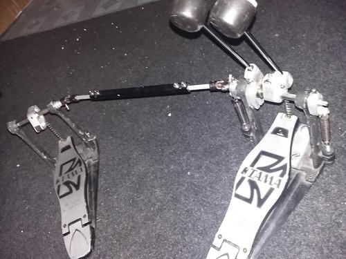 doble pedal de bateria marca tama