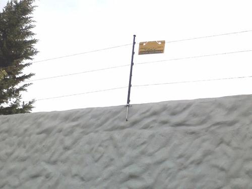 doble pin lock 10 aisladores  en seguriad perimetral