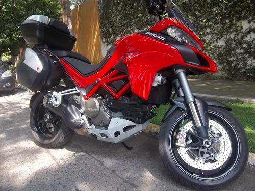 doble proposito 2017 ducati 1200cc multiestrada solo 3500kms