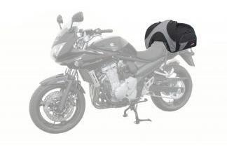 doble proposito maleta trasera semi-rigida 50-65lt moto