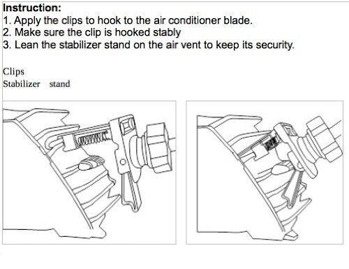 doble resorte ventilador de aire del vehículo para garm...