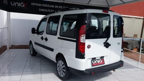 doblo 1.8 essence ano 2017/2017 - uniao veiculos